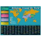 World Religions Map and Timeline