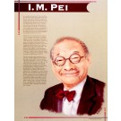 I. M. Pei -Great Asian Americans - poster